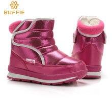 รองเท้าเด็กเล็กMiniเด็กSnow Bootsรองเท้ากันน้ำAnti Skid Soleขนสัตว์ธรรมชาติฤดูหนาวสไตล์ใหม่รองเท้าสั้นจัดส่งฟรี