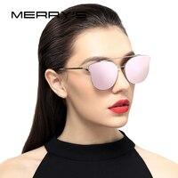 MERRYS 여성용 고양이 눈 선글라스 클래식 브랜드 디자이너 선글라스 S8089