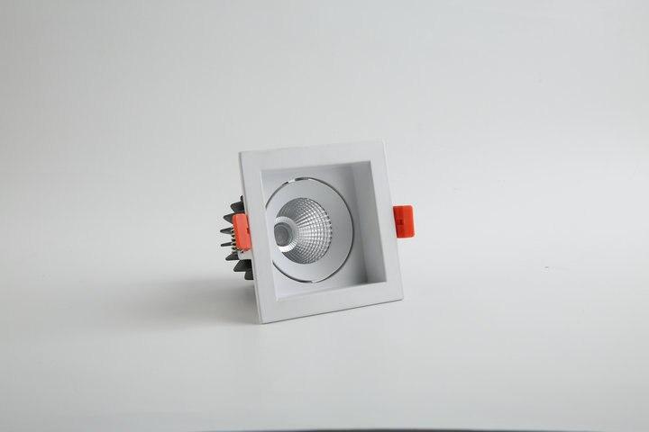 Abajur Luminarias Para Teto 1 шт./лот светодиодный светильник кри УДАРА потолок пятна 15 Вт 85-265 В встраиваемые огни Освещение в помещении