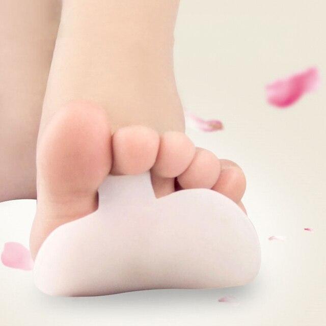 2 adet Kalın Tıbbi Silikon Ayak Pedleri Jel Ön Ayak Pedi Ayak Bakımı Yüksek Topuklu Footpad Yarım Astarı Ayak Bakımı Boğaz ayak Ağrısı Pedikür