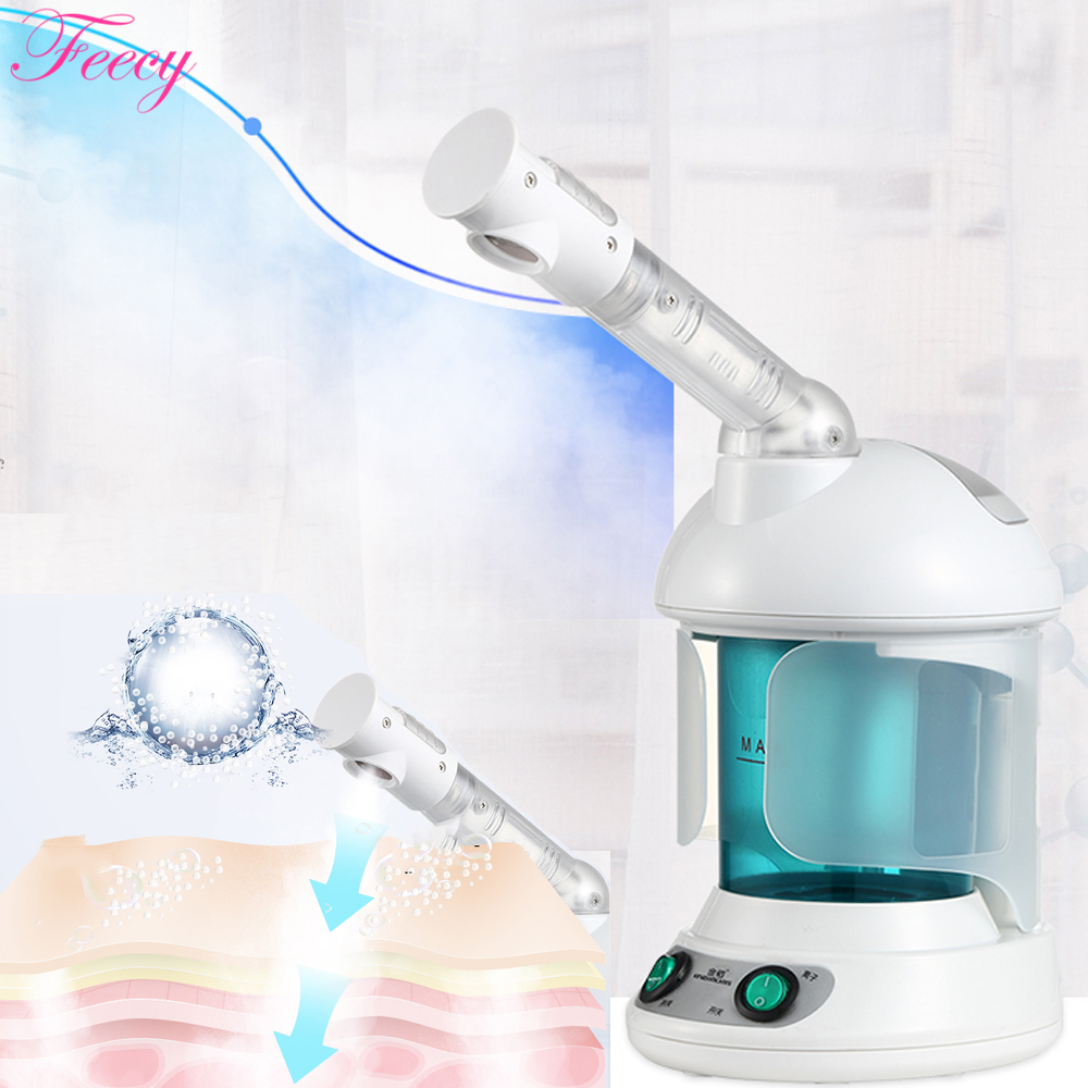 Image 5 - Hot Mist Facial Steamer Steaming Skin Humidifier Ozone Sterilization  Lonic Aromatherapy KINGDOM CARES Facial Sprayer Steamer-in Facial Steamers from Home Appliances
