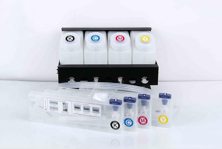 4+4 Bulk ink system Printer for Mutoh RJ900,Roland XJ640/XJ740/RS640/RA640/BN20/SP300 C/M/Y/K