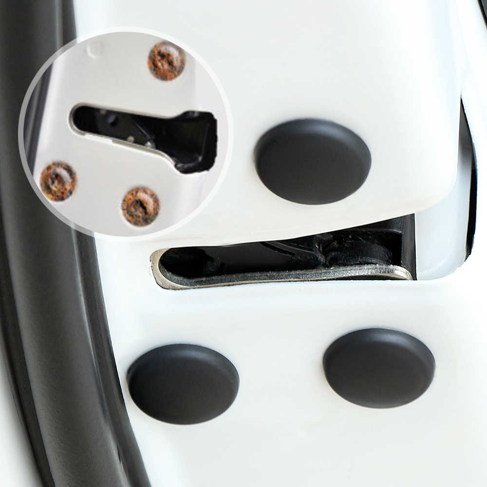 12Pc רכב דלת נעילת בורג מגן כיסוי עבור ניסן הקאשקאי J11 J10 Xtrail T30 T31 T32 Juke מוראנו Versa sentra Altima