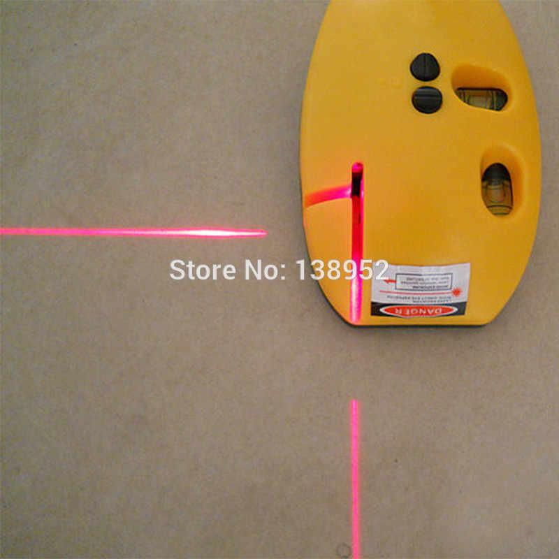 Mehrzweck Laser messen 2 Linien Laser Level nivellierung Rechts Winkel Laser Ebene werkzeug laser linie gerät
