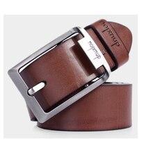 все цены на Accessories For Men PU Leather Belt Trouser Waistband Stylish Casual Belts Men Black And Brown Color онлайн