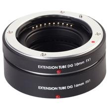 AF Макрос Удлинитель DG 10 + 16 мм для Fujifilm Fuji XF FX X X-T2 X-T1 X-A1 X-E2