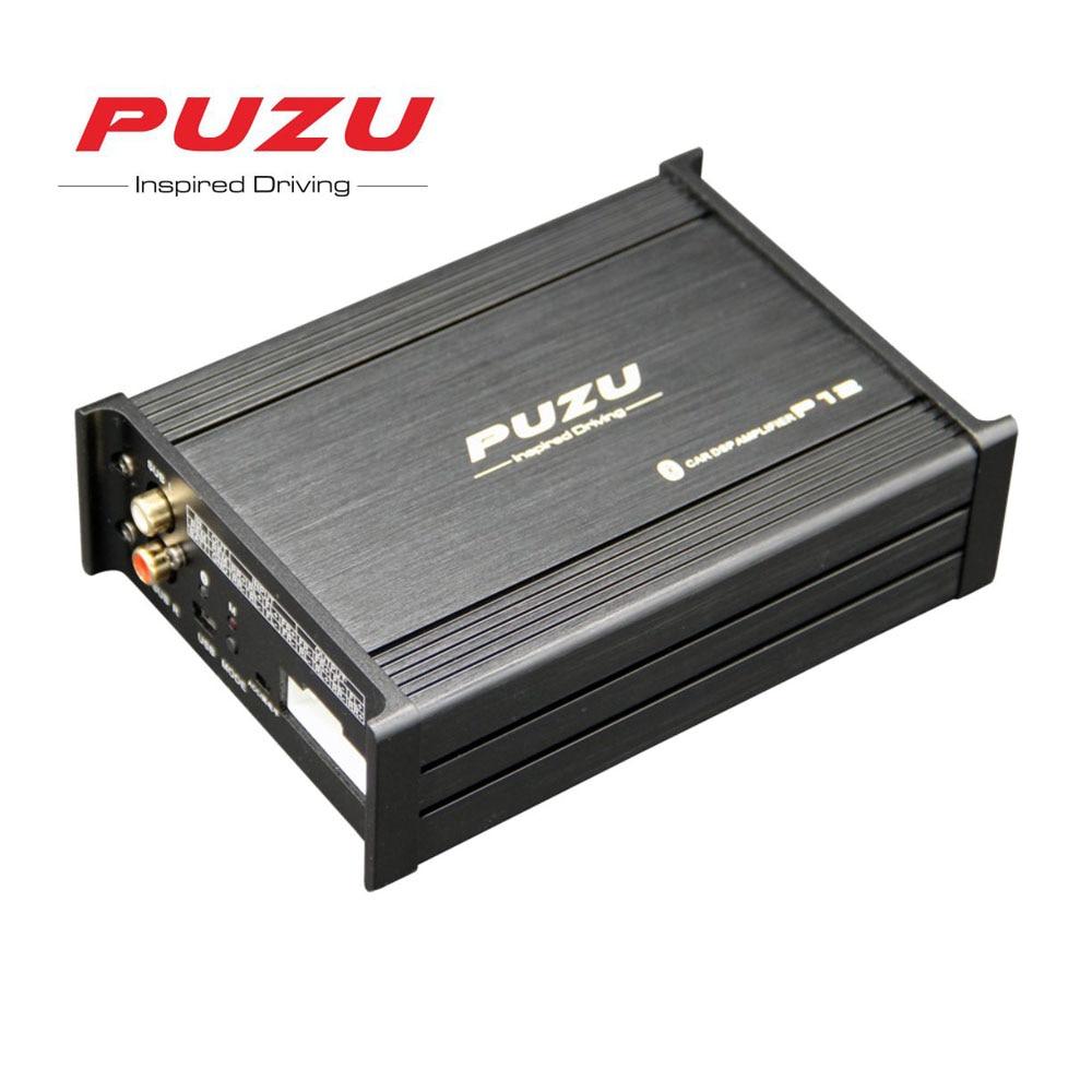 PUZU P12 Voiture Audio Processeur de signal Amplificateur 4X100 w soutien 12 Bande tuning android app voiture DSP audio ISO câble non-destructive