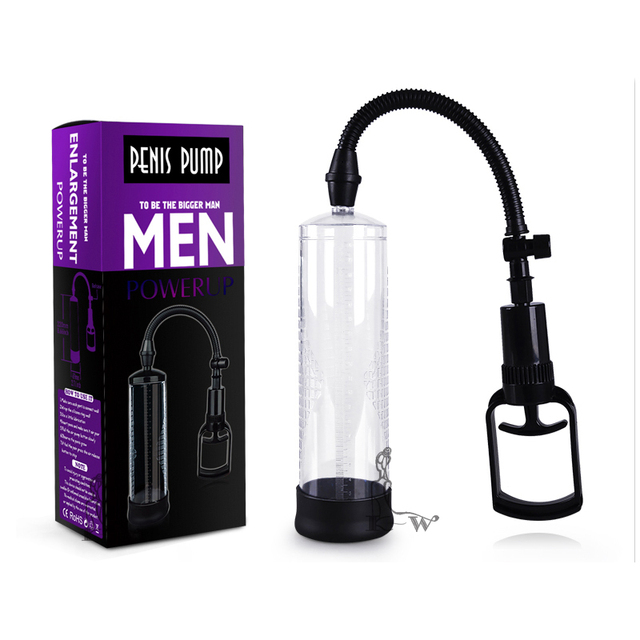 Canwin Penis Pump Penis Enlargement Vacuum Pump Penis Extender Sex Toys Penis Enlarger for Men Adult Sexy Product for Men 30%