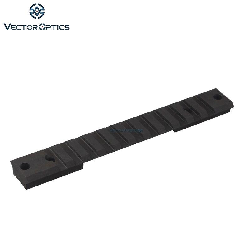 Vector optique Remington 700 court Rail de Picatinny en acier tactique conçu pour une utilisation dure