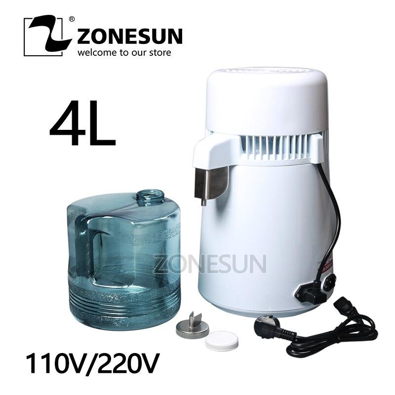 ZONESUN home distilled water machine,distilled water machine,distilled water equipment,distilled water apparatus