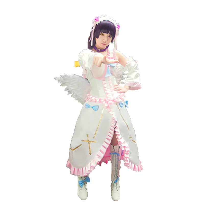 Hot Oreimo Ore no Imouto ga Konnani Kawaii ga Nai Gokou Ruri Cosplay Costumes Kousaka kirino Lolita Holy angel Dress with wing