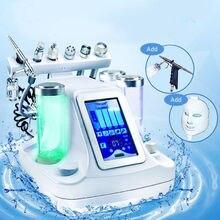 7 в 1 Вакуумная очистка лица Гидра для лица кислородная струйная очистка машина Массаж Уход за кожей био легкий аппарат для косметологии и rf-терапии