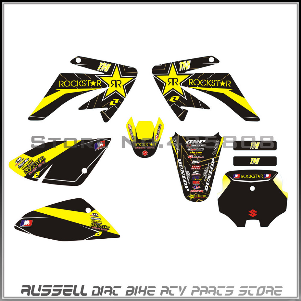 buy crf70 graphics sticker decals for honda dirt pit bike parts crf70 style. Black Bedroom Furniture Sets. Home Design Ideas
