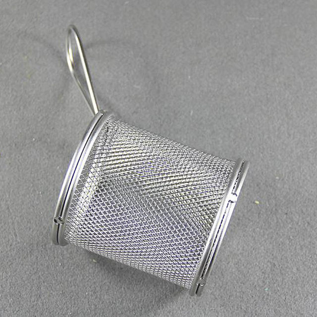 Online Shop New Single Serving Fry Basket Stainless steel Wire Mesh ...