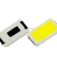200 шт./лот 5730 0.5W-150Ma 50-55lm 5600 K-6400 K белый светильник SMD 5730 светодиодный 5730 диоды для подавления переходных скачков напряжения(3,2~ 3,4 V