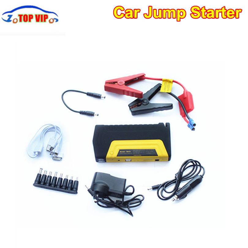Best price 12V Portable Mini Starter Car Jumper Booster Car Emergency Charger Mobile Phone Laptop +Cloth Bag
