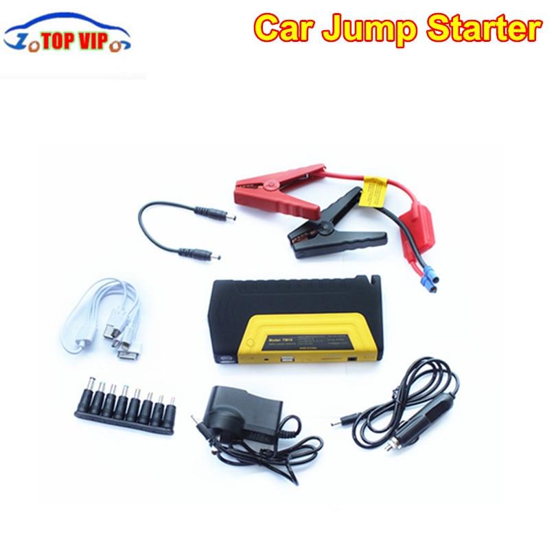 Best price 12V <font><b>Portable</b></font> Mini Starter Car Jumper Booster Car Emergency Charger Mobile Phone Laptop +Cloth Bag