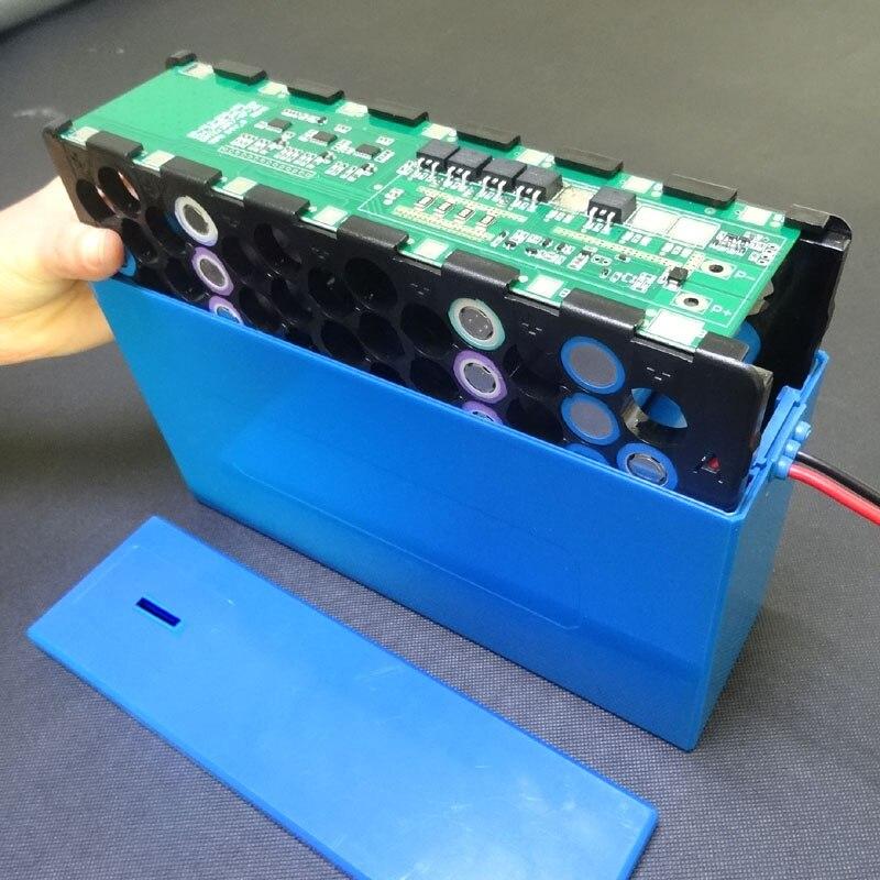 Boîtier de batterie au lithium 13S6P 48 V 20Ah boîtier de batterie li-ion + support + nickel + 13 S 20A BMS pour batterie 18650 peut être placé 78 cellules - 2