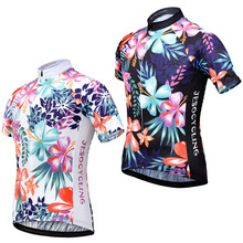 2018 Cycling Jersey Women MTB Bike Breathable 100% Polyester Quickly Dry Clothing Ropa Ciclismo In S-XXXL Size