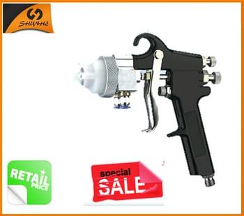 95 Hot Sale High Quality Professional Double nozzle Sprayer Chrome Paint Guns Dual Nozzle Spray Gun