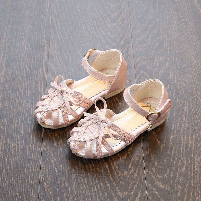 girl sandals girls shoes summer party princess wedding shoe toddler children kids for 215 year size 21 35 leather fashion kk39 in sandals from mother