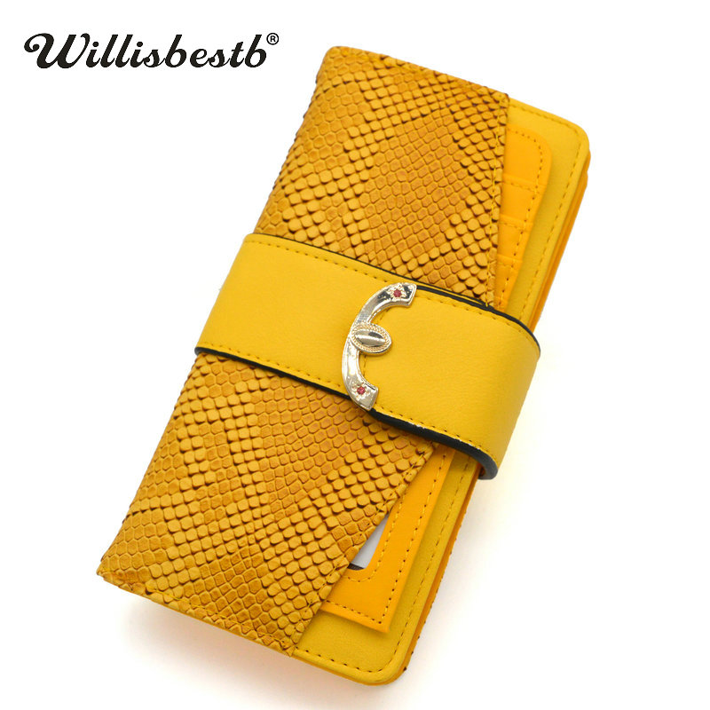 New Crocodile Leather Purses Women Wallets Luxury Hasp Long Retro Zipper Woman Purse Female Wallet Cell Phone Clutch Card Holder цена
