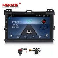 MEKEDE android 8,1 автомобильный dvd 2 din мультимедийный плеер для Toyota Prado 120 Land Cruiser 2004 2009 Автомобильный Радио gps навигация 4 ядра