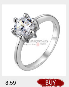 White CZ unique Poli Boucle Fashion Ring 925 Sterling Silver Band Taille 4-10