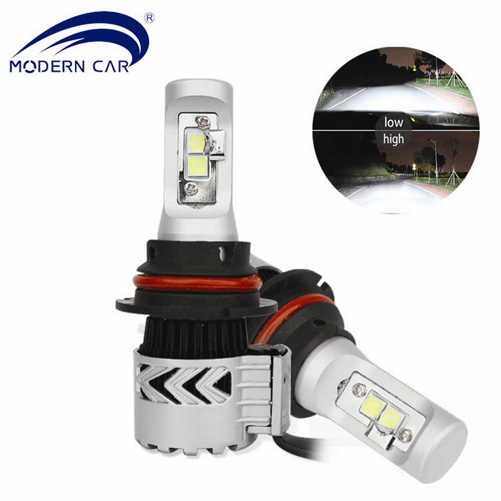 MODERN CAR Super Bright <font><b>72W</b></font> 12000lm <font><b>LED</b></font> Headlight Bulb 9004 9007 H4 H7 <font><b>H11</b></font> 9005 9006 <font><b>LED</b></font> Car Headlamp Front Light 6000K 12V #m8g