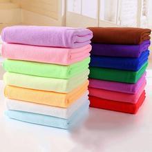 Горячая распродажа! Туристическое спортивное быстросохнущее абсорбирующее чистящее полотенце 35x75 см