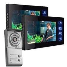 Freeship Apartamento Estación Al Aire Libre video de la puerta Sistema de Intercomunicación teléfono con grabación de vídeo de Vídeo 700TVL cámara de la puerta con la tarjeta SD