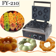 1PC   Electric plum blossom sweet donut maker/ Electric flower type waffle machine/ waffle pan /sweet donut maker