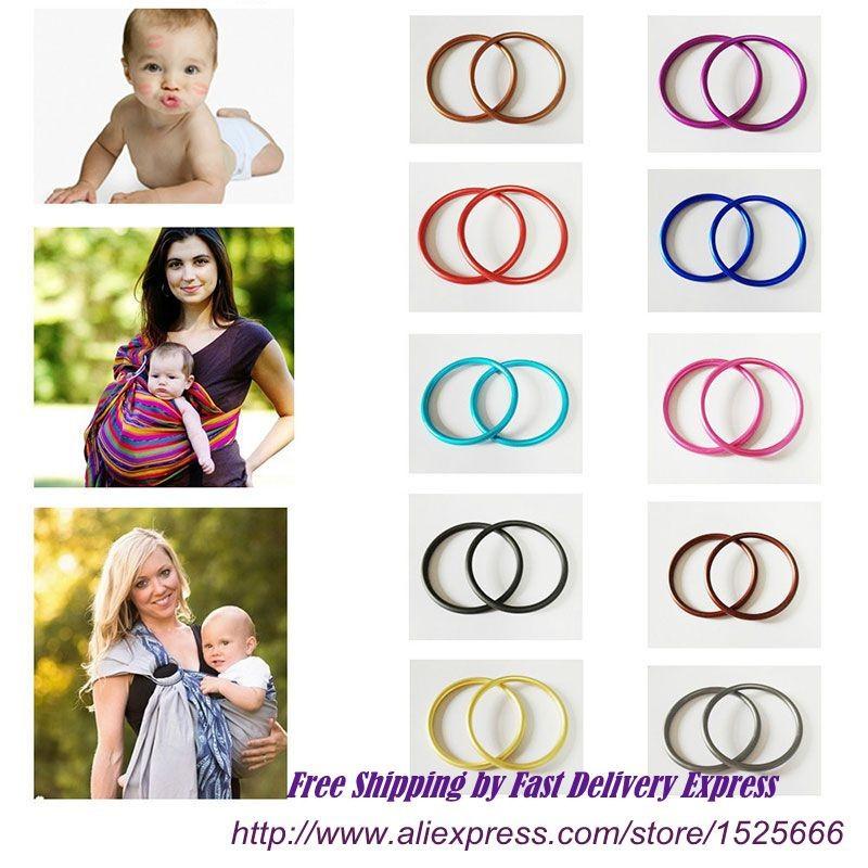 Adjustable Baby Sling Rings