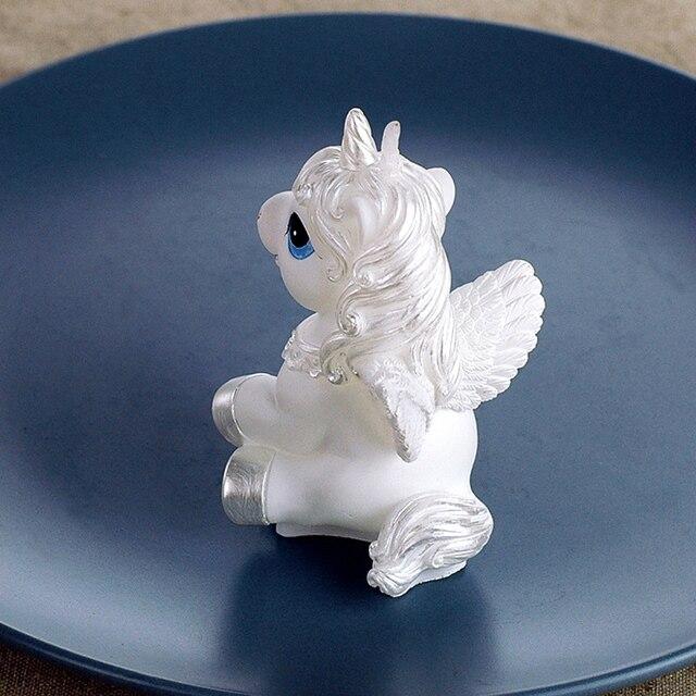 Incroyable Mini Licorne Modèle Art Gâteau Bougie Pour La Fête De