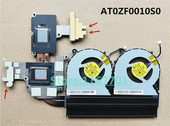 New Laptop/Notebook CPU cooling Radiator Heatsink&Fan for Lenovo Ideapad Y700 Y700-15 Y700-15ISK Y700-15ISE intel AT0ZF0010S0