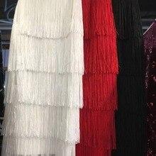 3 цвета женские HL бандажные юбки сексуальные с кисточками Облегающие юбки до середины икры юбки-карандаш высокое качество