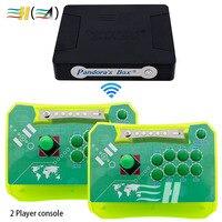 Kit Arcade Controller 2 Players Control Fighting Stick 645 In 1 Pandora Box 4 USB Joystick