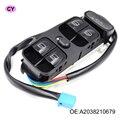 La mejor Calidad! OEM A2038210679 Nuevo Interruptor Del Elevalunas eléctrico para MERCEDES W203 C-CLASS C320 Frontal izquierdo