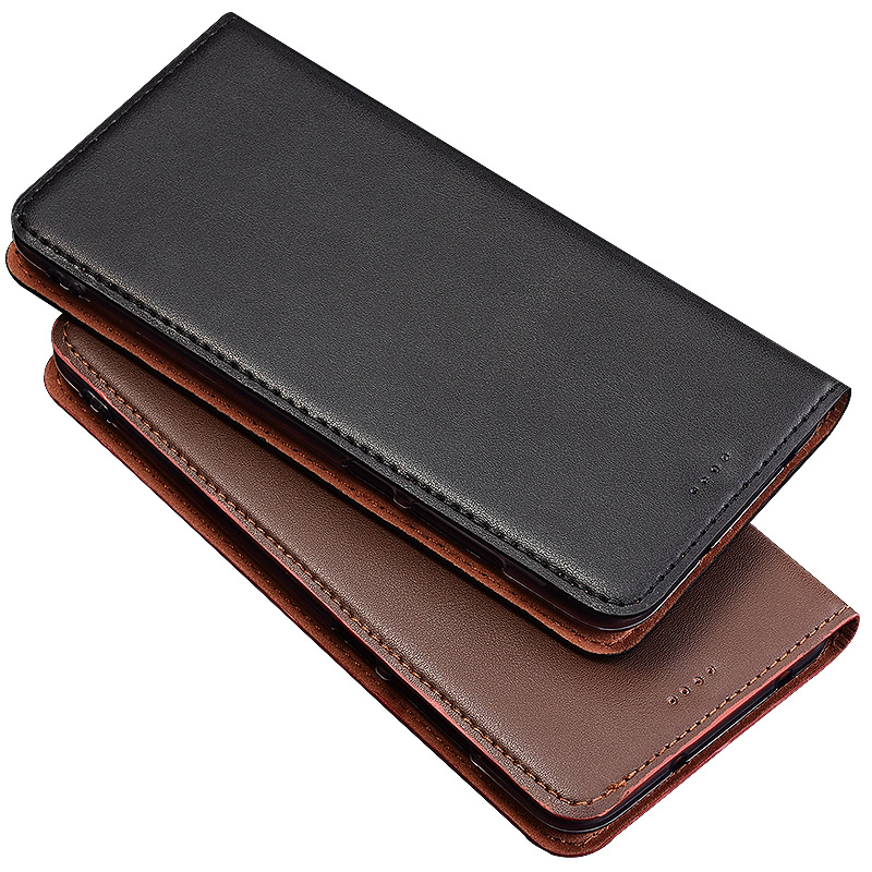 QX04 Genuine Leather phone bag with card holder for Sony Xperia XA1(5.0') phone case for Sony Xperia XA1 flip case