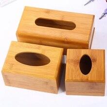 Caja de almacenamiento de toallas de papel Simple de moda caja de cajones de madera para el hogar, barra de coche, restaurante, accesorios de decoración de mesa