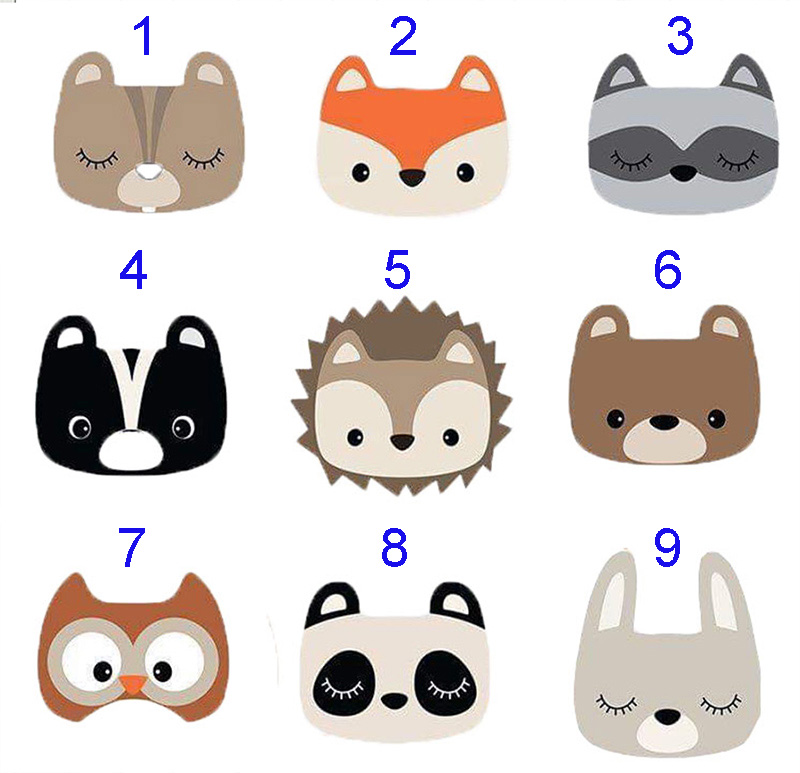 Various Cute Animal Avatars New Design Craft Metal Cutting Dies Scrapbooking Album DIY Paper Card Craft Embossing Die Cuts