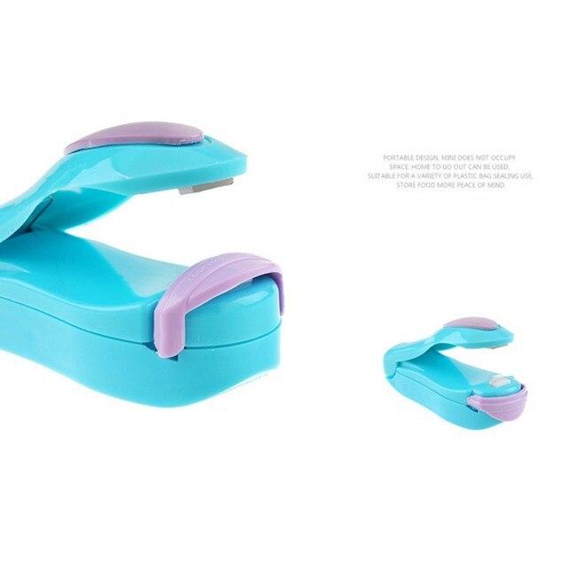 Portable Sealer Mini Heat Sealing Machine Pulse Plastic Sealed Packaging Bag With Bat