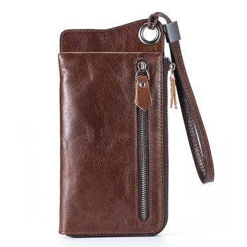 Vintage Genuine Leather Men Wallets