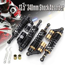 "13.5"" 340mm Motorcycle Air for Shock Absorber Suspension Damper for Honda for Yamaha(China)"