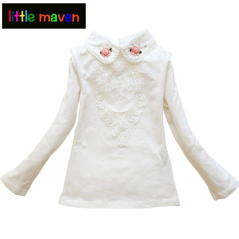 Қыздарға арналған күзгі блузка Floral - Балалар киімі - фото 1