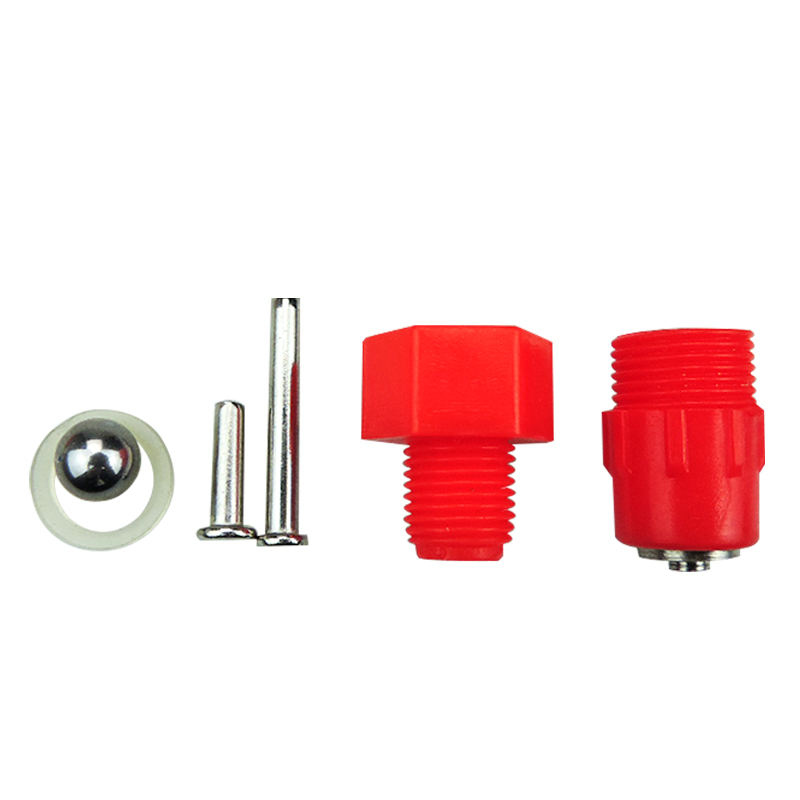 Image 4 - 100 pcs Poultry Chicken Drinker Nipples Automatic Waterers Bird Hen Feeding Ball Type Screw Nipple Drinkers for chicken FarmFeeding & Watering Supplies   -