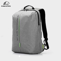 Kingsons Men S Backpack 15 6 Inch Laptop High Quality Waterproof Nylon Business Affairs Bags Men