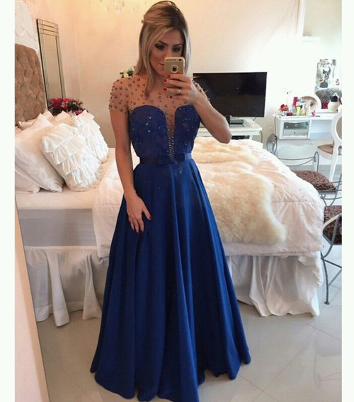Vestidos azul naval