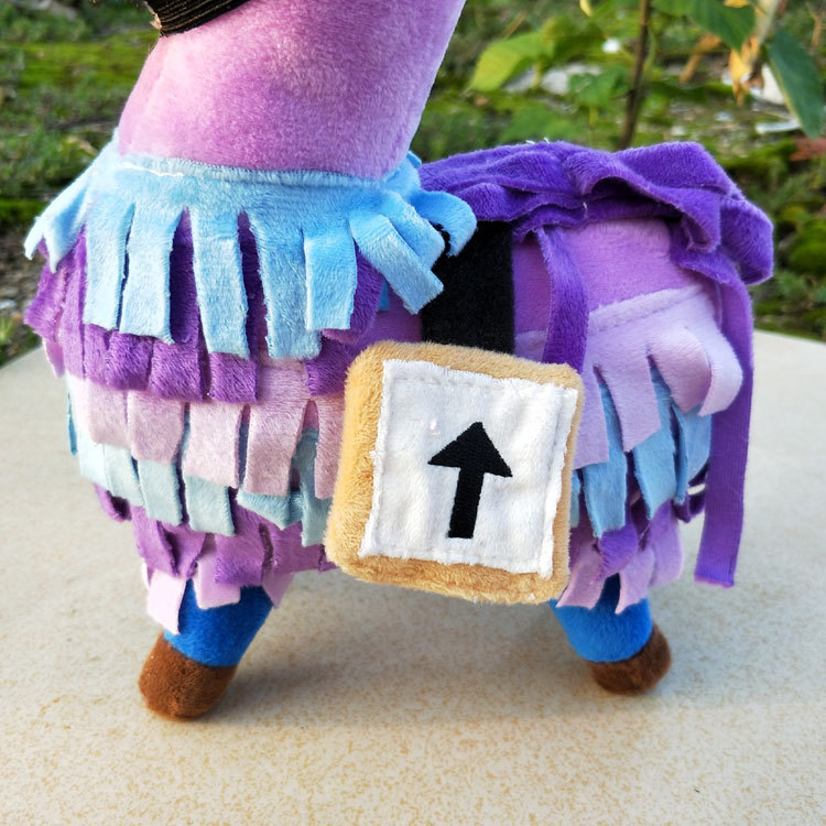 New Arrivals Game Fortnite Troll Stash Llama Figure Soft Stuffed Doll Animal Toys Action Figure Toys for Kids Birthday Gift 25cm
