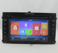 Car DVD GPS radio Navigation for Ssangyong Rexton 2006 2010 with Bluetooth, iPod, 1080P